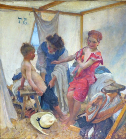 The Bathing Tent
