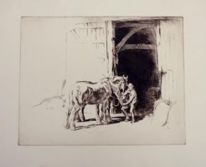 Feeding the Horses c.1922