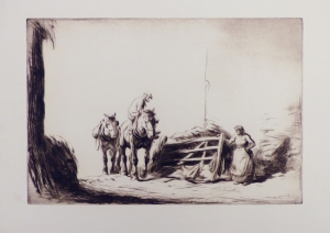 Returning Home through the Gate c.1921