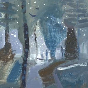 The Silence Of the Winter Wood C Saunderson